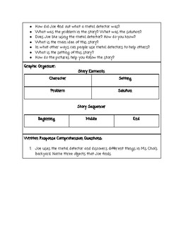 Guided Reading Lesson Plan: Metal Detector Detective