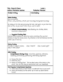 Guided Reading Lesson Plan Paws and Claws Animal Tracks