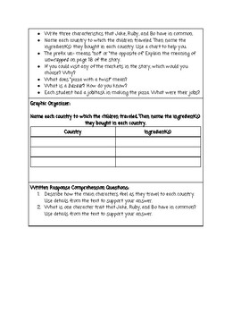 Guided Reading Lesson Plan: Pizza with a Twist