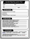 Guided Reading Lesson Plan - Saskatchewan Curriculum Correlated