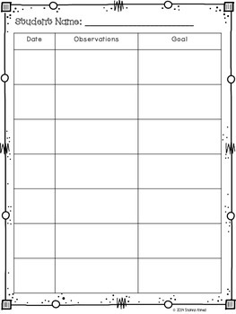 Guided Reading Lesson Plan Template