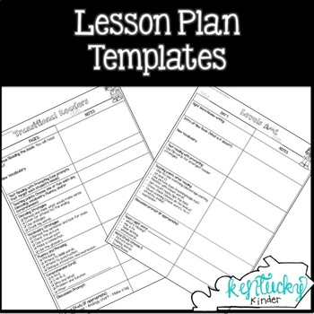 guided reading lesson plan templates by kentucky kinder tpt. Black Bedroom Furniture Sets. Home Design Ideas