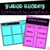 Shared Reading Lesson Plan Template   Teachers Pay Teachers