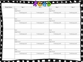 Guided Reading Lesson Plan Template - Jan Richardson Style