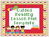 Guided Reading Lesson Plan Template Level A-K ( Essential