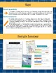 Guided Reading Lesson Plan Template and Instructions