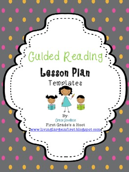 Guided Reading Lesson Plan Templates By Grace S Lovelace Guishard - Guided reading lesson plan template 4th grade