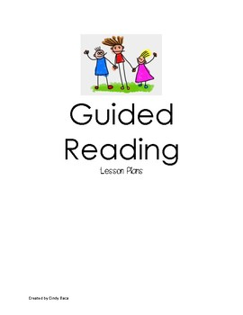 Guided Reading Lesson Plan Templates By 2nd Grade Owls Tpt