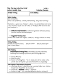 Guided Reading Lesson Plan: The Boy Who Cried Wolf