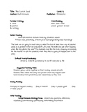 Guided Reading Lesson Plan: The Carrot Seed