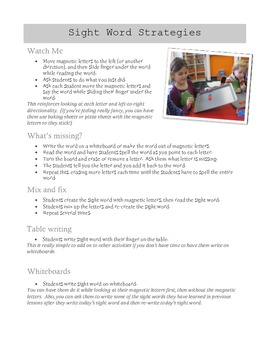 Guided Reading Lesson Plan and Resources for Emergent Readers