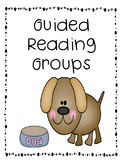 Guided Reading Lesson Plan and Schedule with Posters