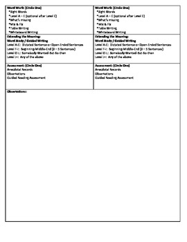 Guided Reading Lesson Plan for - (Level C) Cut, Fold, and Mix