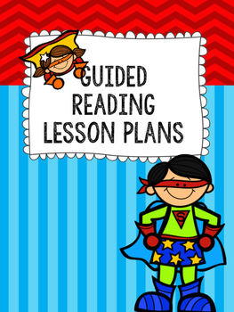 Guided Reading Lesson Planning Binder