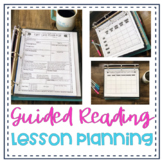 Guided Reading Lesson Plans, Planning Resources and Templates