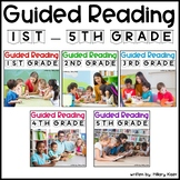 Guided Reading Lesson Plans: 1st-5th Grade Bundle