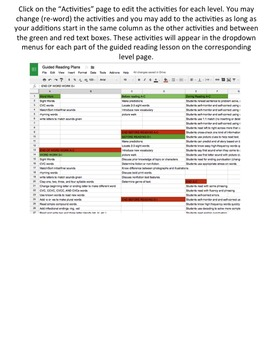 Guided Reading Lesson Plans {Digital}
