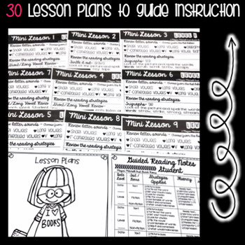 Guided Reading Level F: NO PREP Lesson Plans & Activities for Small Group