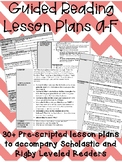 Guided Reading Lesson Plans: A-F (0-150L)