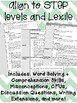 Guided Reading Lesson Plans: G-J (150-320L)