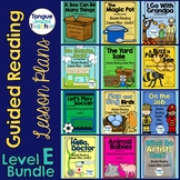 Level E Guided Reading Lesson Plan Bundle