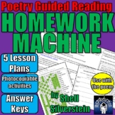 Guided Reading Lesson Plans: Homework Machine by Shell Sil