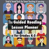 K-5 Common Core Guided Reading Lesson Plan Template: for G
