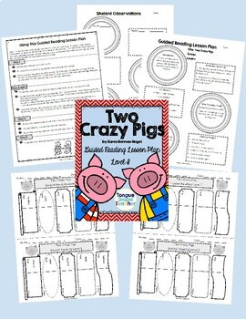 Guided Reading Lesson Plans, Level I, Growing Bundle