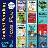 Level I Guided Reading Lesson Plan Bundle