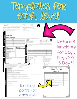 Guided Reading Lesson Plans Levels Q-Z