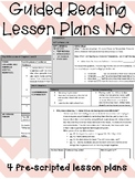 Guided Reading Lesson Plans: N-O (500-650L)