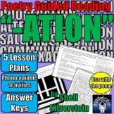 """Guided Reading Lesson Plans: POETRY """"ATIONS"""" by Shell Silv"""