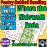 Guided Reading Lesson Plans: Where the Sidewalk Ends - She