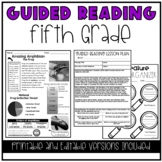 Guided Reading Lesson Plans: 5th Grade