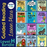 Level H Guided Reading Lesson Plan Bundle