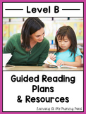 Guided Reading Activities and Lesson Plans for Level B