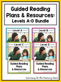 Guided Reading for Kindergarten: Lesson Plans, Books, & Activities {Levels A-D}
