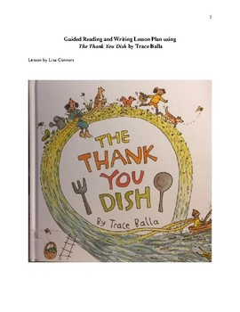 Guided Reading Lesson using book The Thank You Dish