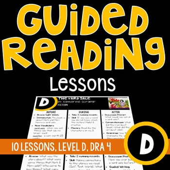 Guided Reading Lessons {Level D}