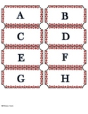 Guided Reading Letter Labels