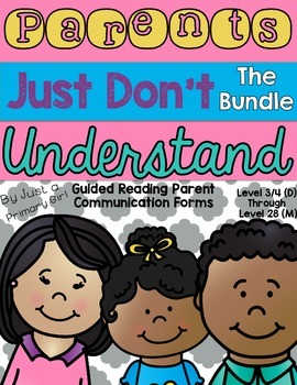 Guided Reading Letters -