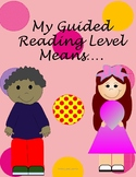 Guided Reading Level