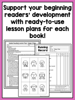 Guided Reading Level A - Add On Lesson Plans and Books Pack