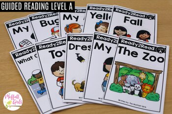 Guided Reading Level A Curriculum
