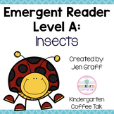Guided Reading Level A: Insects