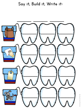Guided Reading Level A: Keeping My Teeth Clean
