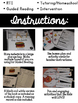 Guided Reading Level A Lesson Plans and Activities- Farm Animals