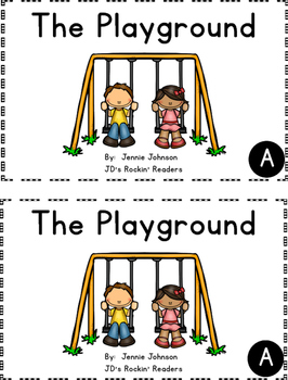 Guided Reading Level A Lesson Plans and Activities- The Playground