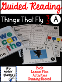 Guided Reading Level A Lesson Plans and Activities- Things That Fly