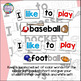 Sight Word Leveled Reader and Activities: Sports Reader!